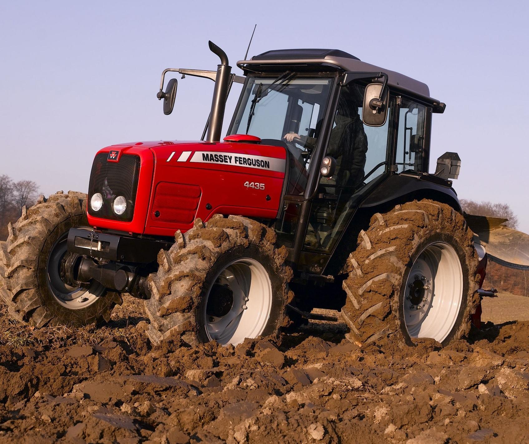 Photo du Tracteurs agricoles MF 4435 Cabine