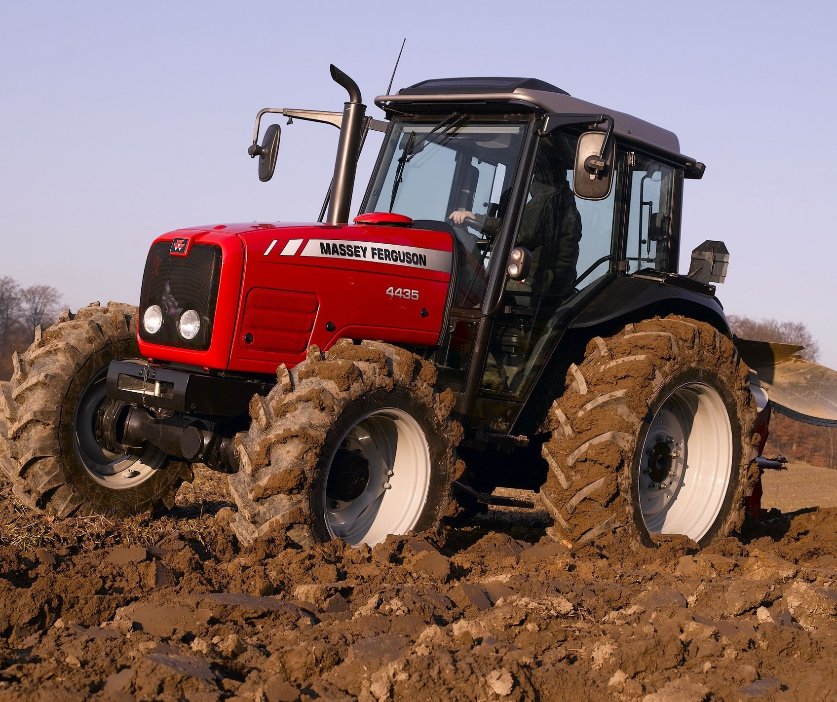 Photo du Tracteurs agricoles MF 4435 Cabine