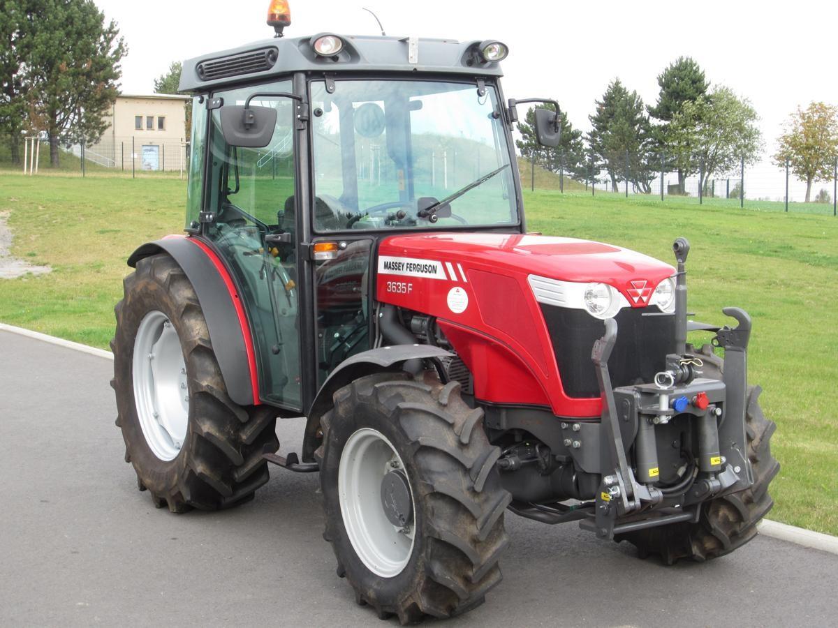 Photo du Tracteurs fruitiers MF 3635 F