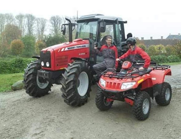 Photo du Tracteurs agricoles MF 4445 Cabine