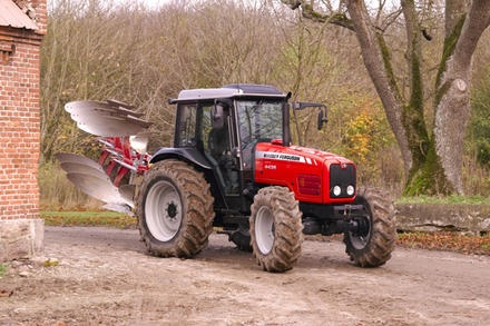 Photo du Tracteurs agricoles MF 4455 Cabine