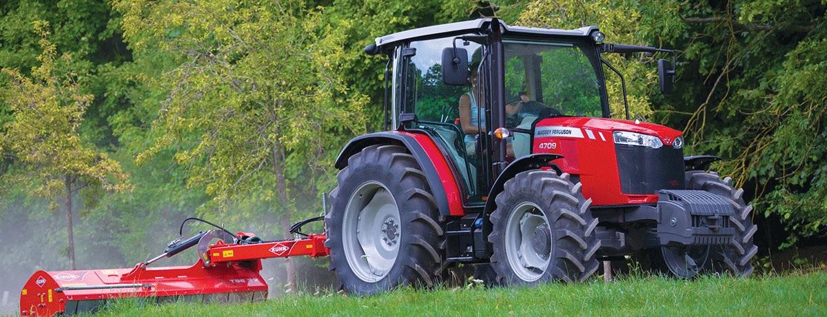 Photo du Tracteurs agricoles MF 4709 Cabine