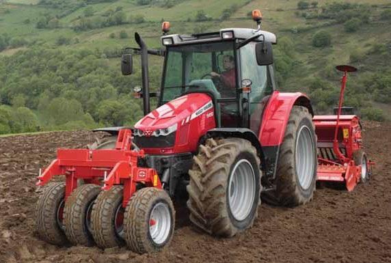 Photo du Tracteurs agricoles MF 5420