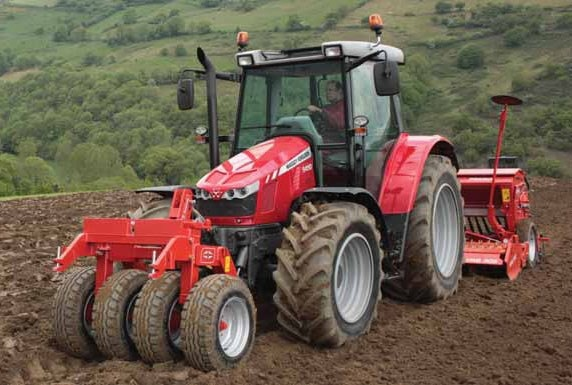 Photo du Tracteurs agricoles MF 5420