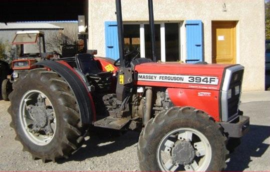 Photo du Tracteurs fruitiers MF 364 Basset