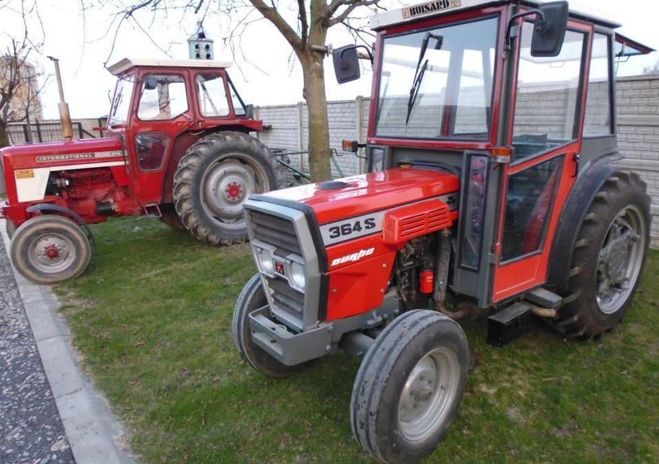 Photo du Tracteurs fruitiers MF 364 S