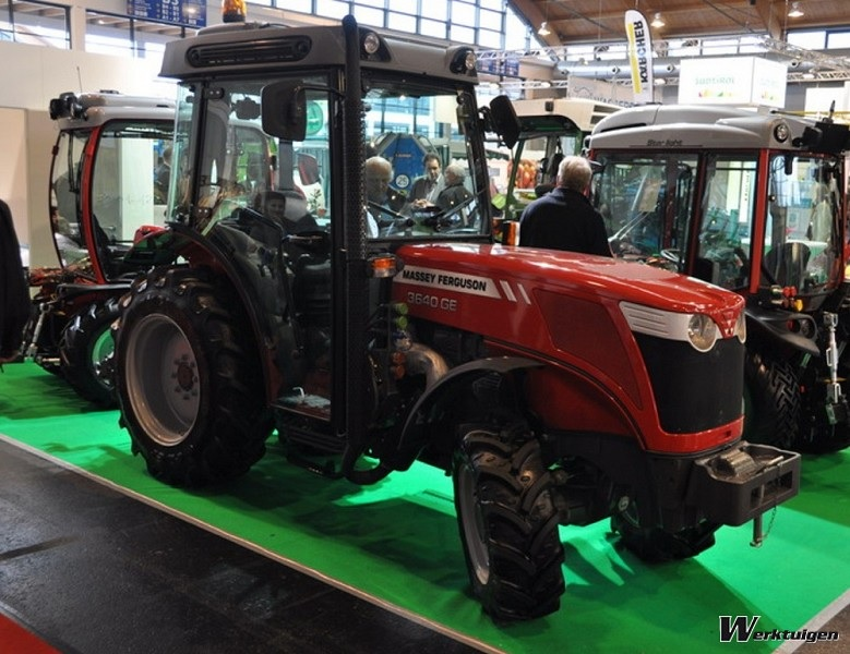 Photo du Tracteurs fruitiers MF 3640 GE XTra