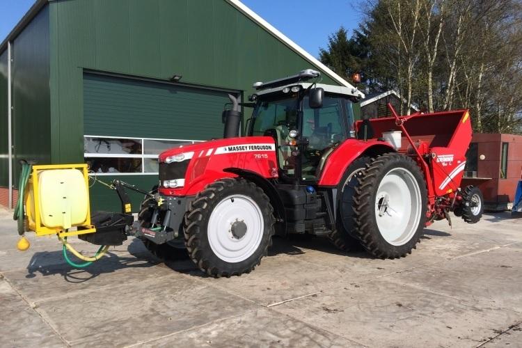 Photo du Tracteurs agricoles MF 7615 Dyna-VT