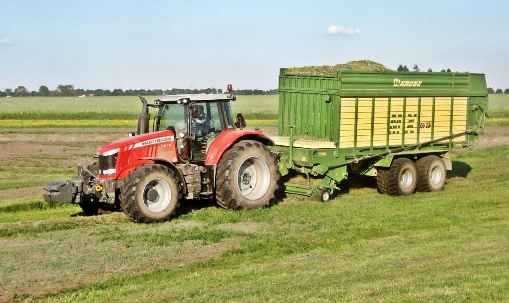 Photo du Tracteurs agricoles MF 7619 Dyna-6