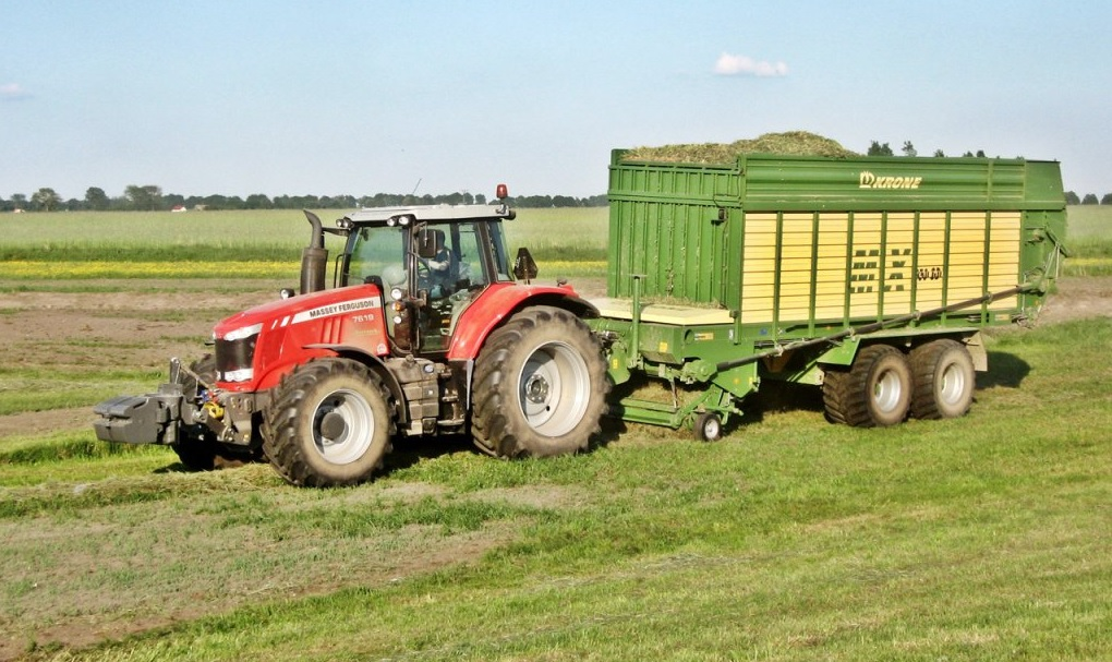 Photo du Tracteurs agricoles MF 7619 Dyna-6