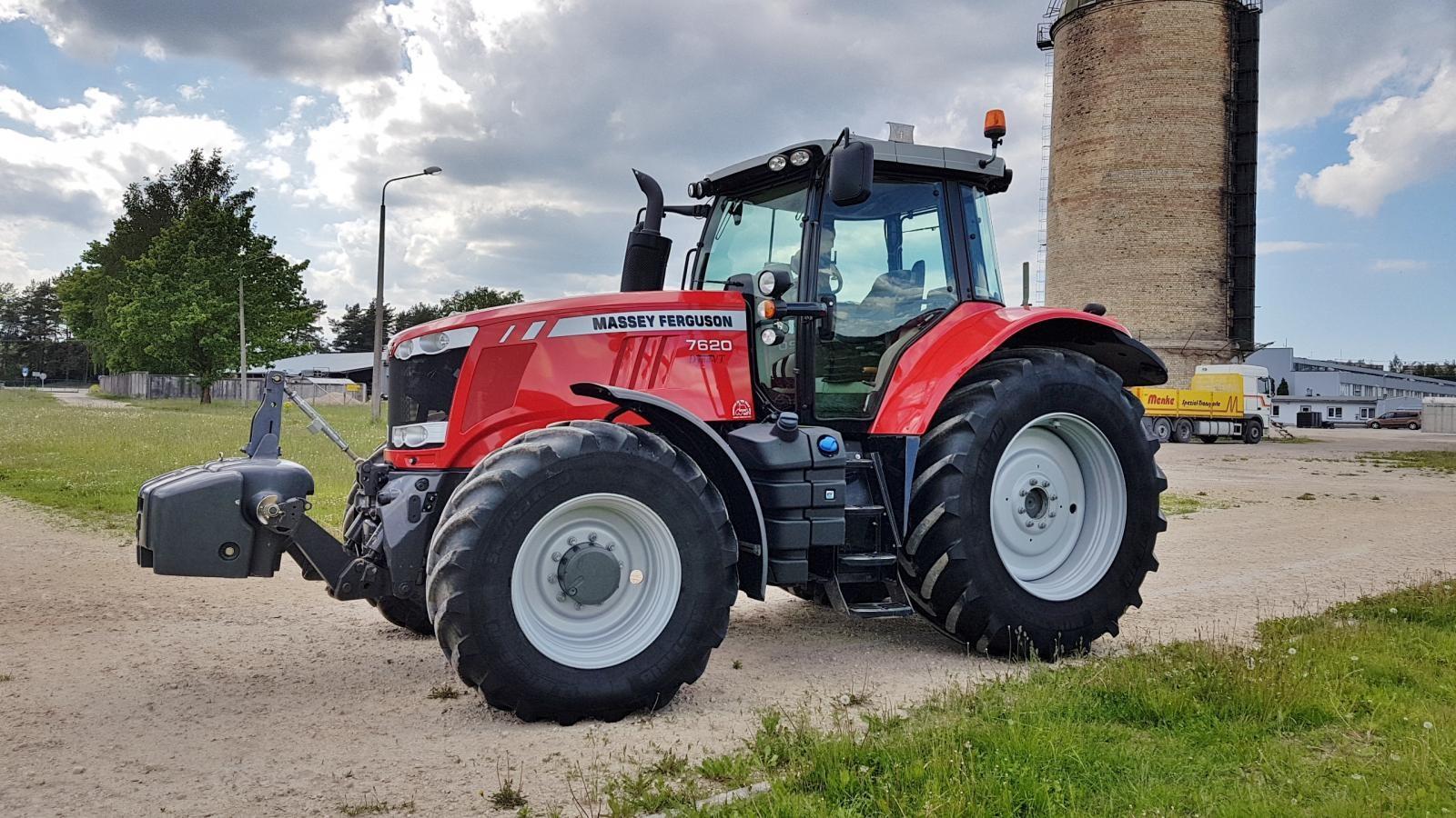 Photo du Tracteurs agricoles MF 7620 Dyna-VT