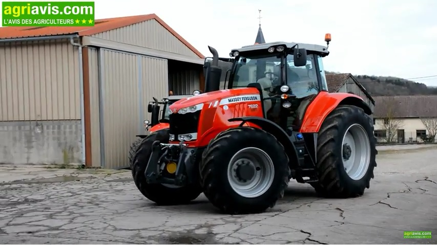 Photo du Tracteurs agricoles MF 7622 Dyna-6