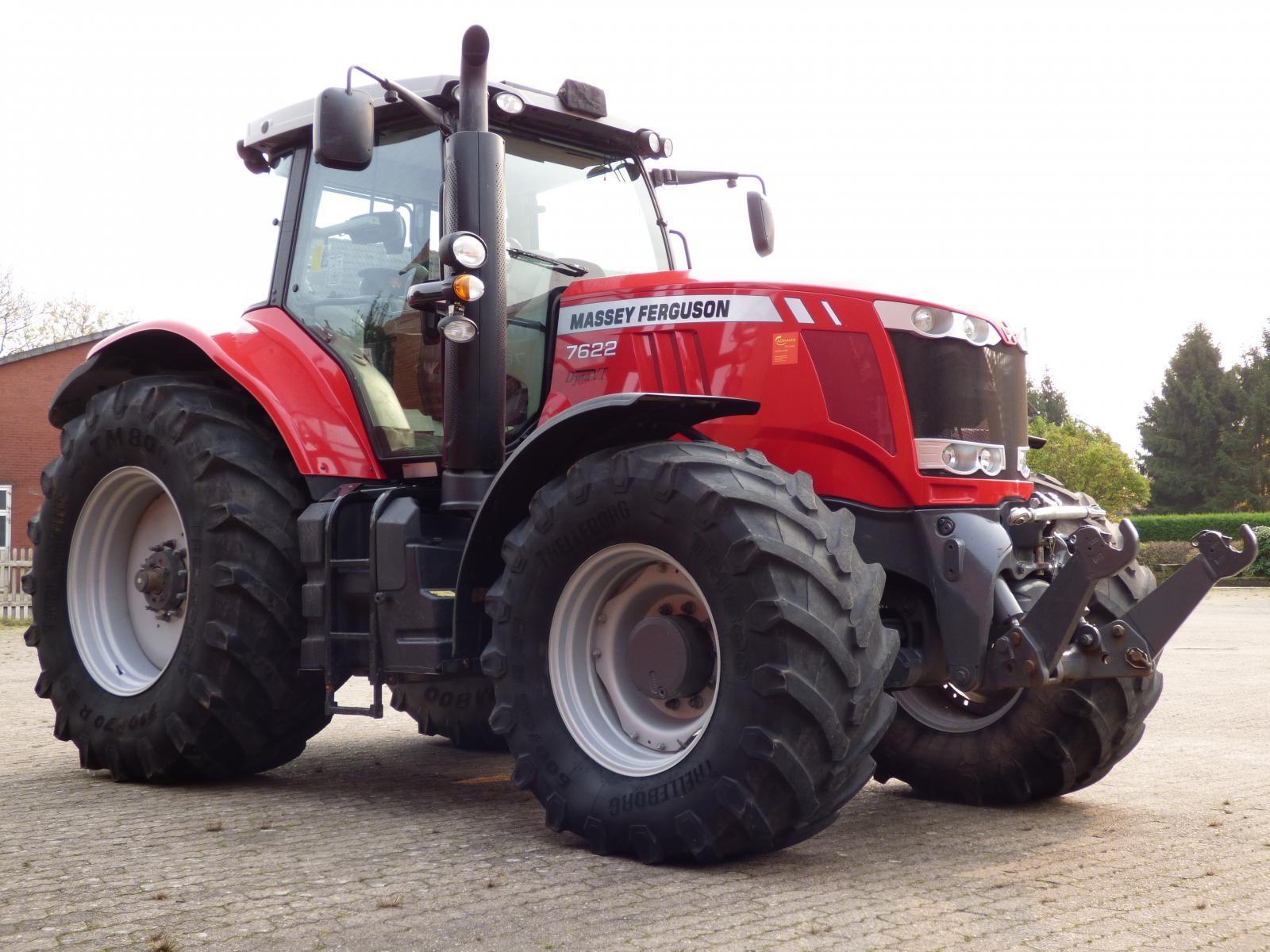 Photo du Tracteurs agricoles MF 7622 Dyna-VT