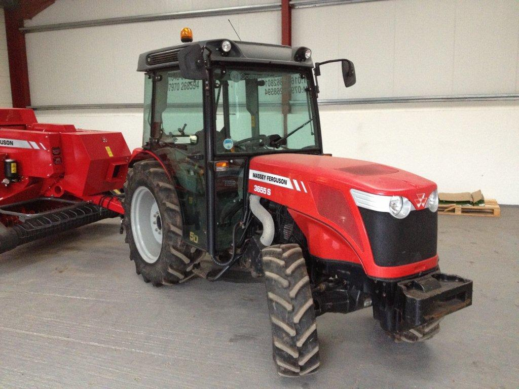 Photo du Tracteurs fruitiers MF 3655 GE