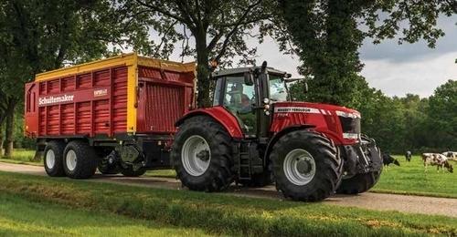Photo du Tracteurs agricoles MF 7714 Dyna-4 Essentiel