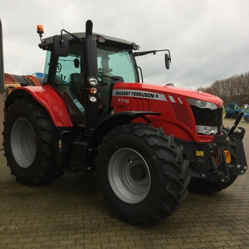 Photo du Tracteurs agricoles MF 7716 VT Efficient