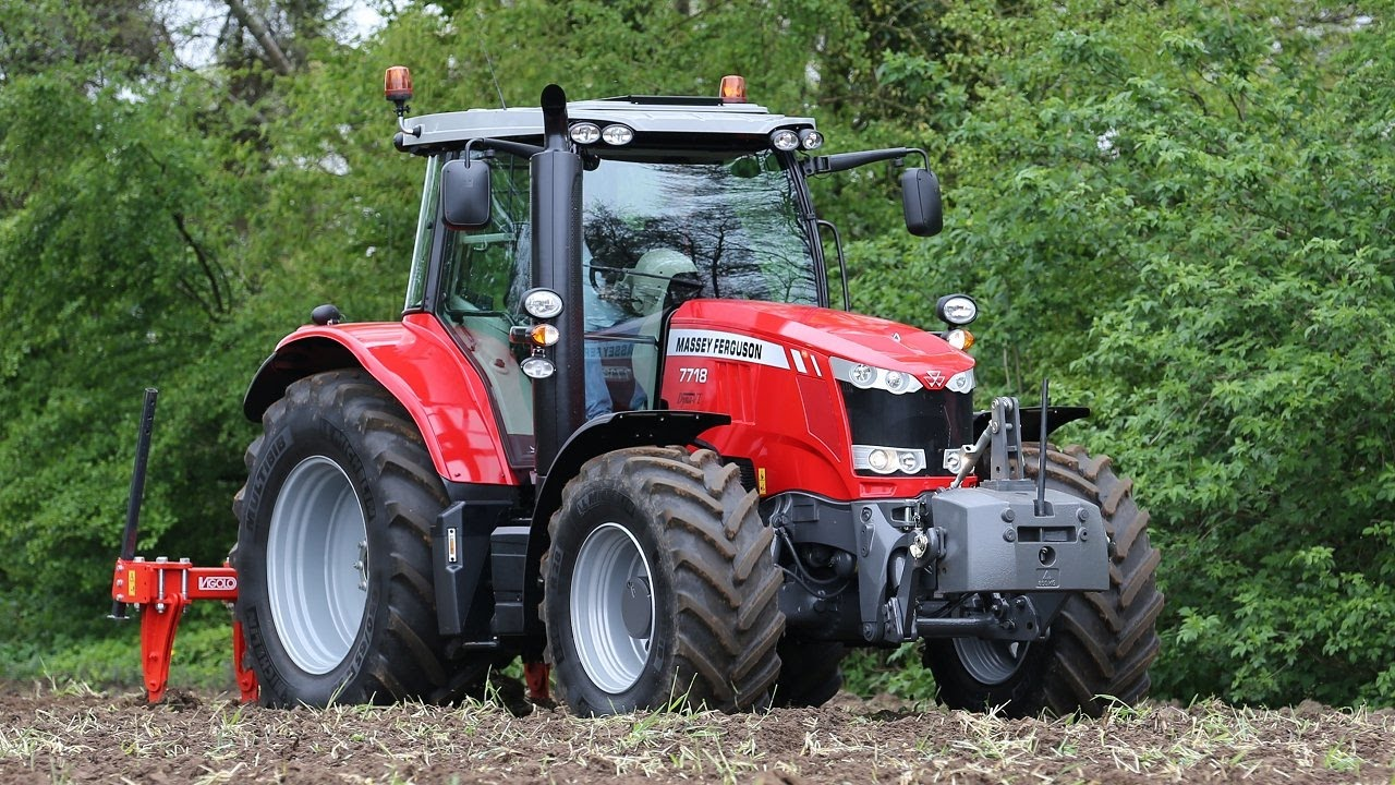 Photo du Tracteurs agricoles MF 7718 Dyna-6 Exclusive