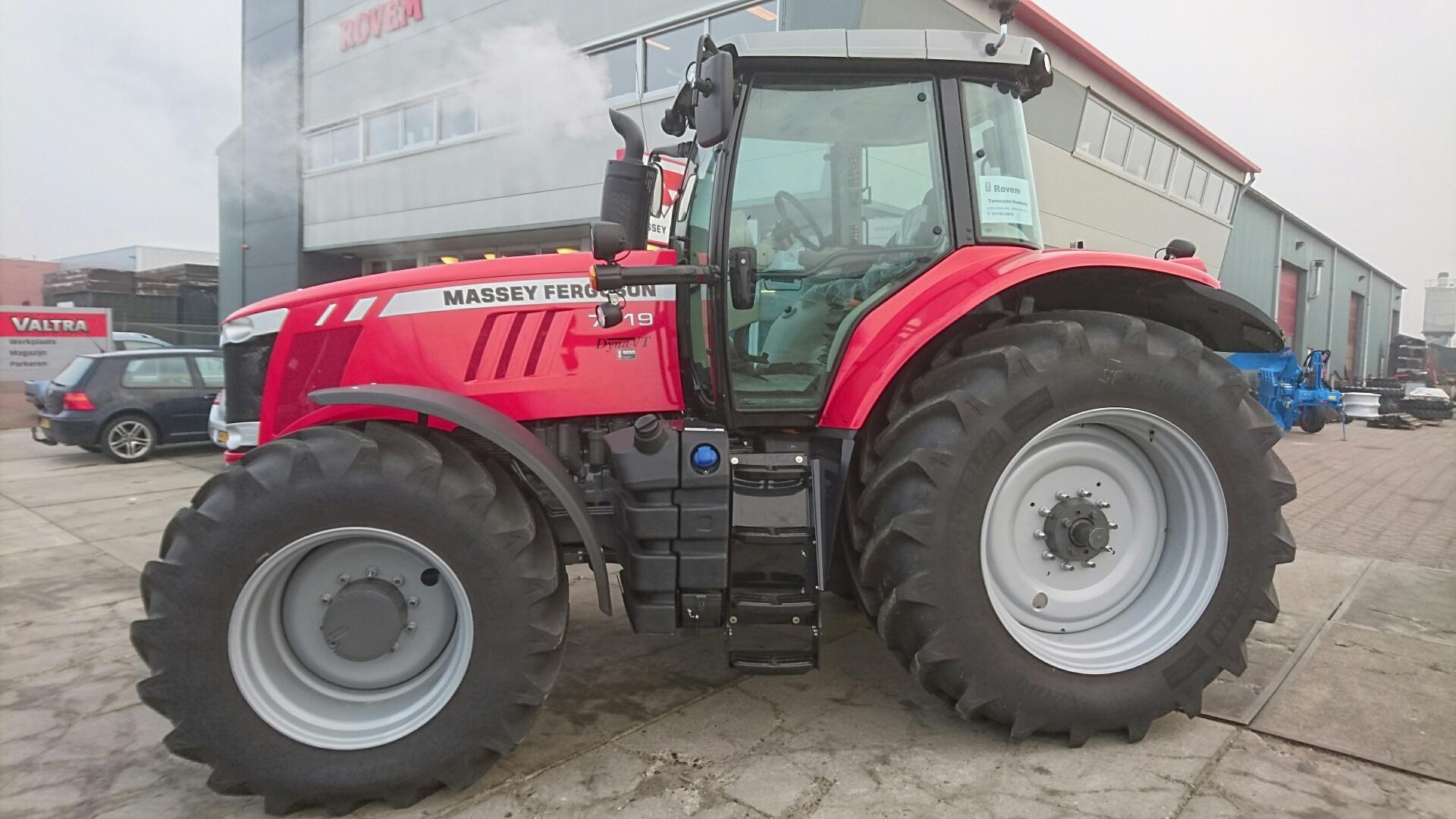Photo du Tracteurs agricoles MF 7719 VT Efficient