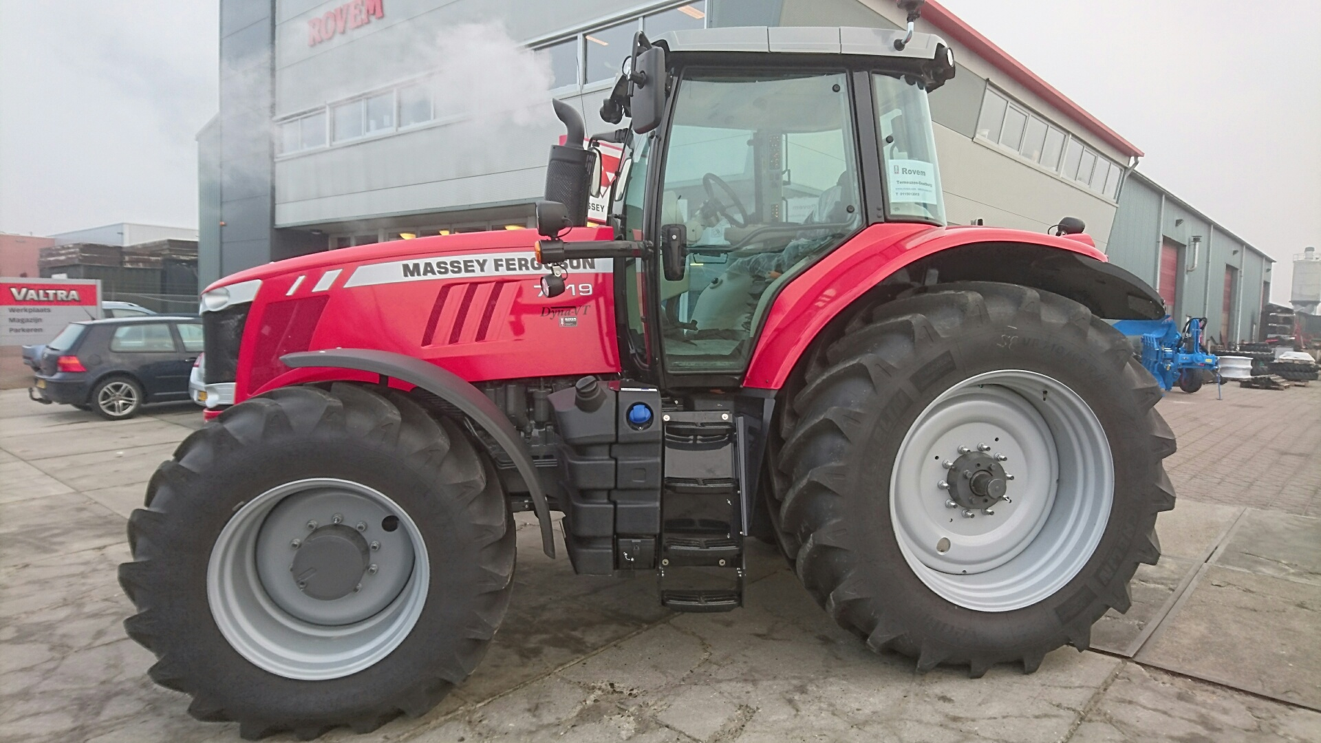 Photo du Tracteurs agricoles MF 7719 VT Efficient