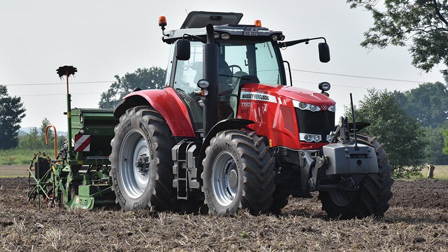 Photo du Tracteurs agricoles MF 7720 VT Efficient