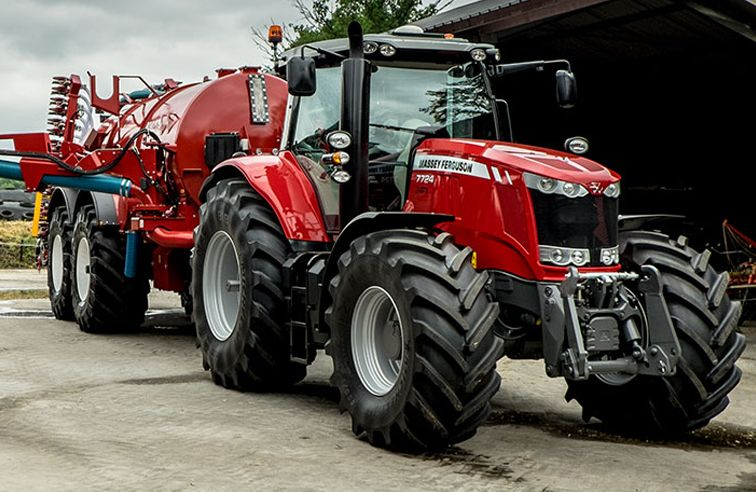 Photo du Tracteurs agricoles MF 7724 VT Efficient