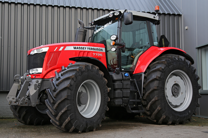Photo du Tracteurs agricoles MF 7726 VT Efficient