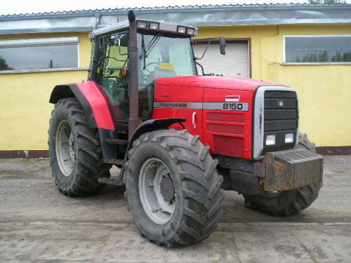 Photo du Tracteurs agricoles MF 8150