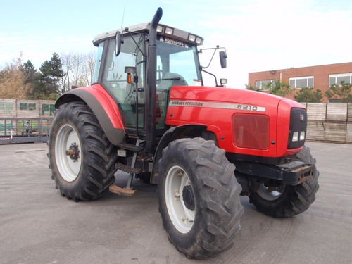 Photo du Tracteurs agricoles MF 8210 Dynashift