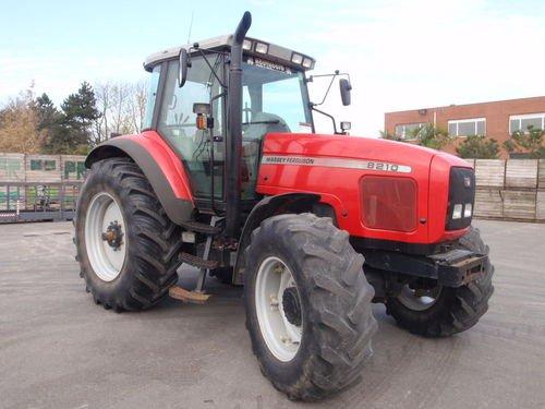 Photo du Tracteurs agricoles MF 8210 XTra