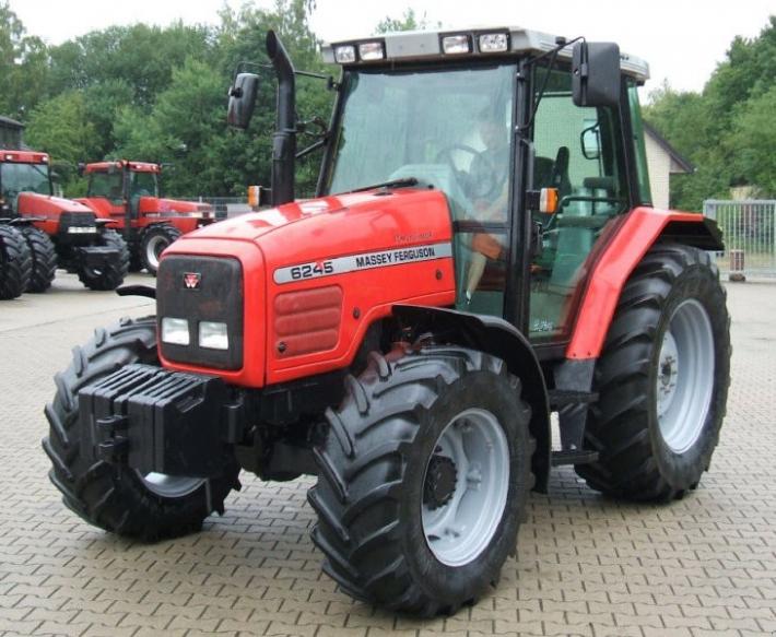 Photo du Tracteurs agricoles MF 6245 Speedshift