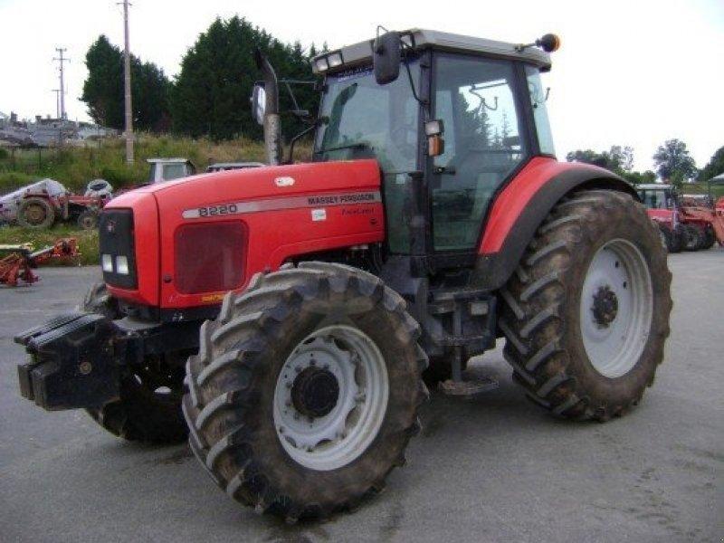 Photo du Tracteurs agricoles MF 8220 Dynashift