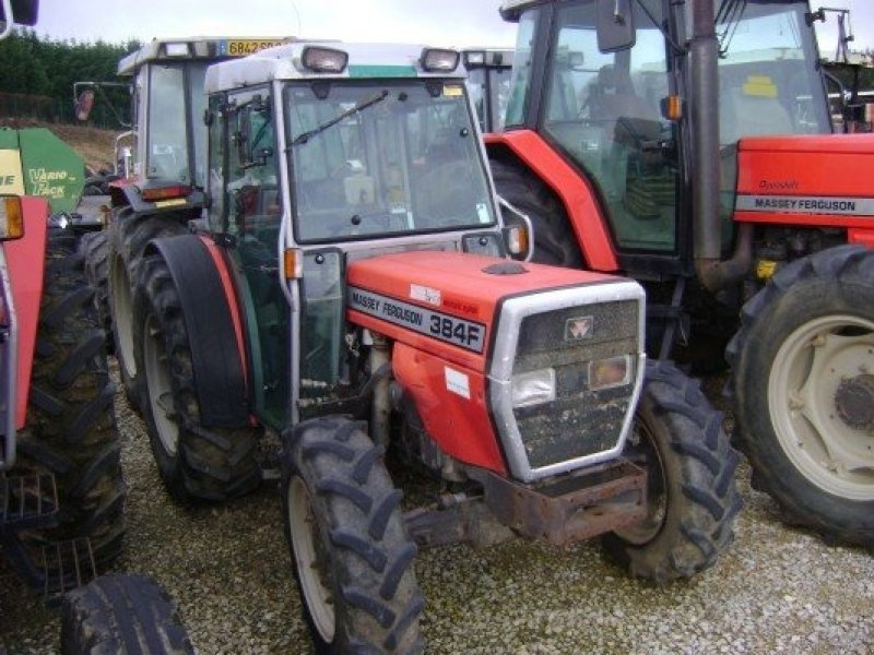 Photo du Tracteurs fruitiers MF 384 F
