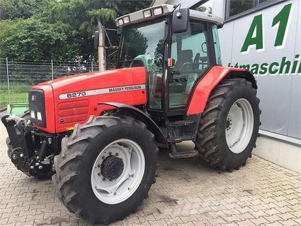 Photo du Tracteurs agricoles MF 6270 Speedshift