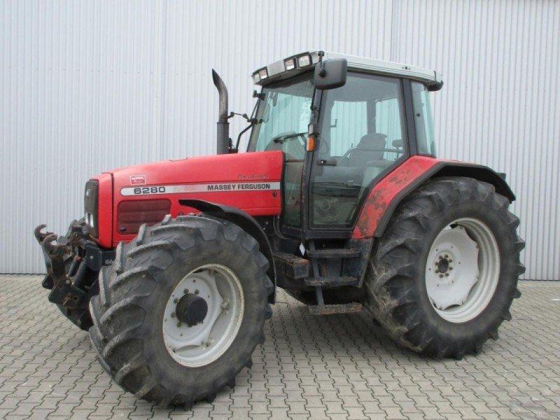 Photo du Tracteurs agricoles MF 6280 Dynashift Plus