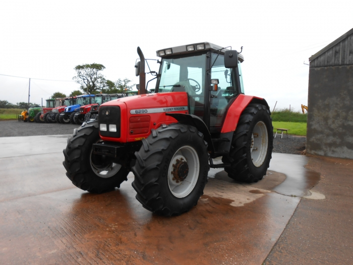 Photo du Tracteurs agricoles MF 6290 Dynashift Plus