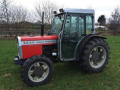 Photo du Tracteurs fruitiers MF 384 S
