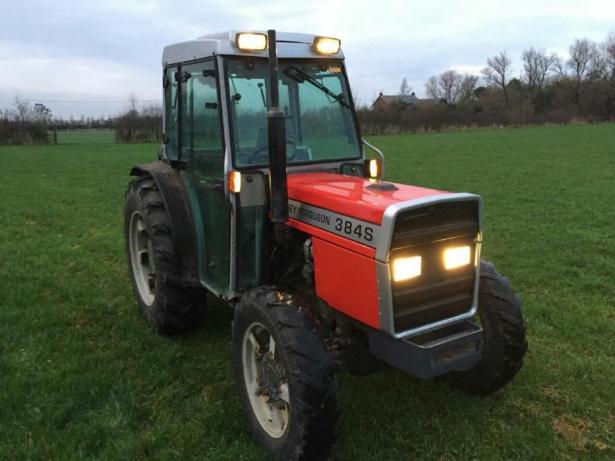Photo du Tracteurs fruitiers MF 384 SGE Basset
