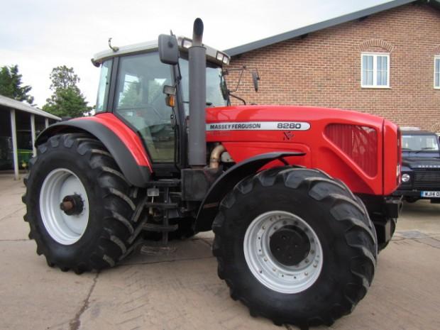 Photo du Tracteurs agricoles MF 8280 XTra