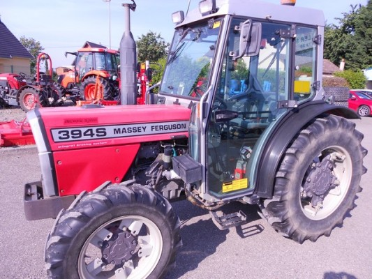 Photo du Tracteurs fruitiers MF 394 SGE Basset