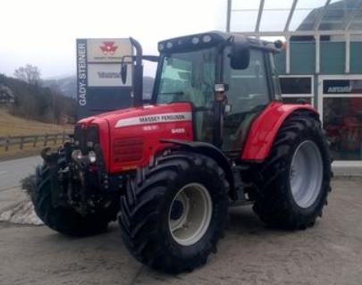 Photo du Tracteurs agricoles MF 6455 Elite