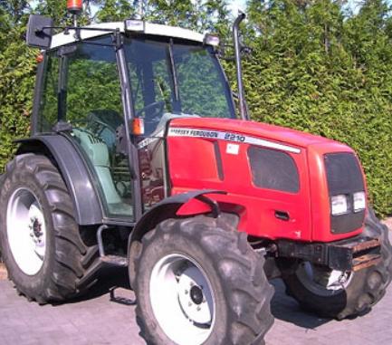 Photo du Tracteurs agricoles MF 2210 Cabine