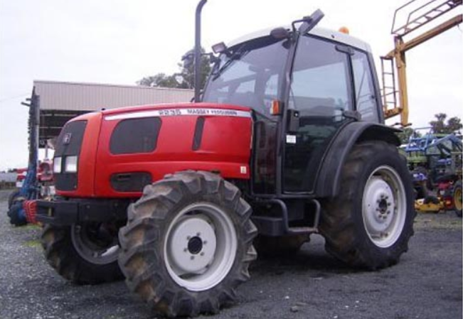 Photo du Tracteurs agricoles MF 2235 Cabine