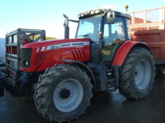 Photo du Tracteurs agricoles MF 6465 Elite