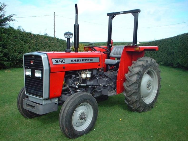 Photo du Tracteurs agricoles MF 240 Arceau