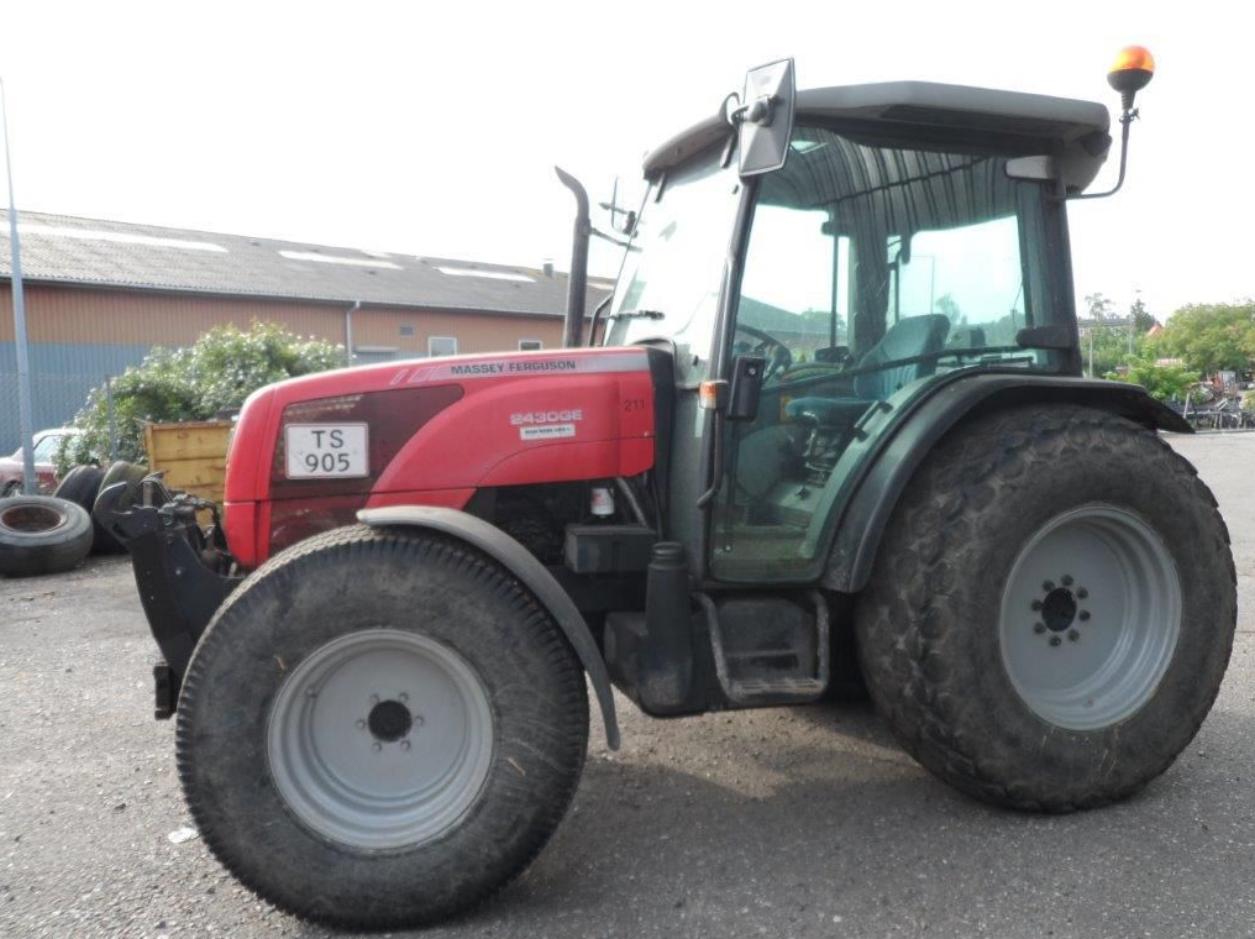 Photo du Tracteurs agricoles MF 2430 GE