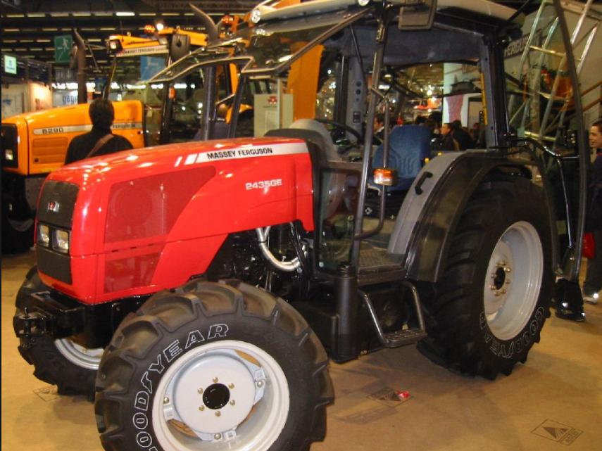 Photo du Tracteurs agricoles MF 2435 GE