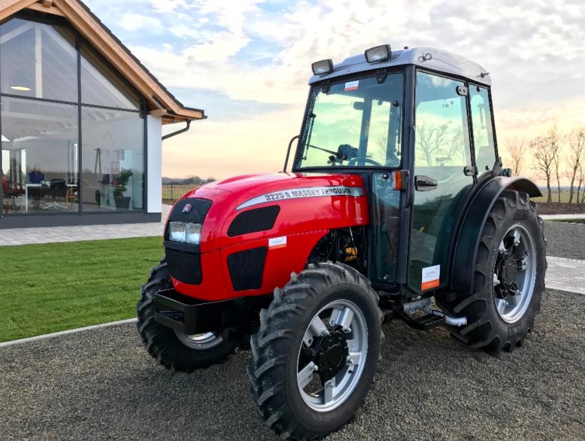 Photo du Tracteurs fruitiers MF 3225 S Arceau Rabattable