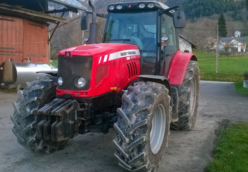 Photo du Tracteurs agricoles 6475 Elite