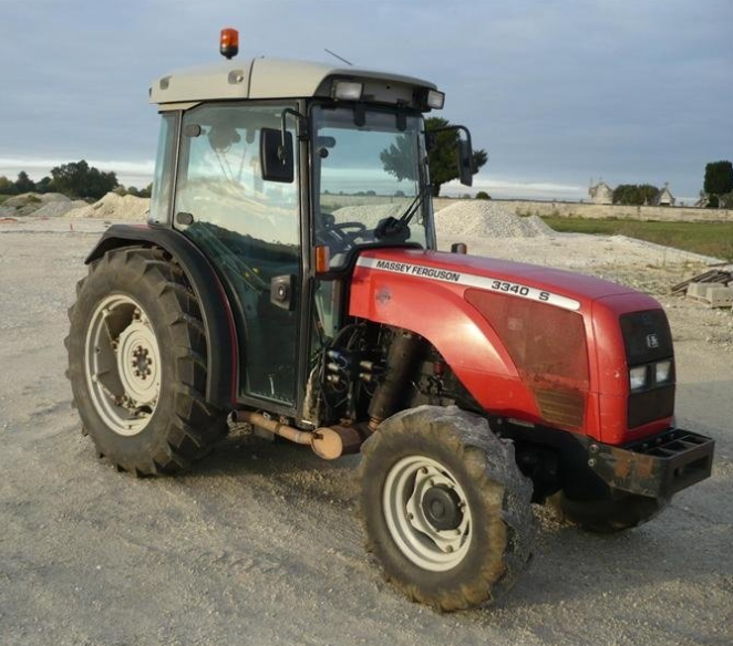 Photo du Tracteurs fruitiers MF 3340 S Arceau Rabattable