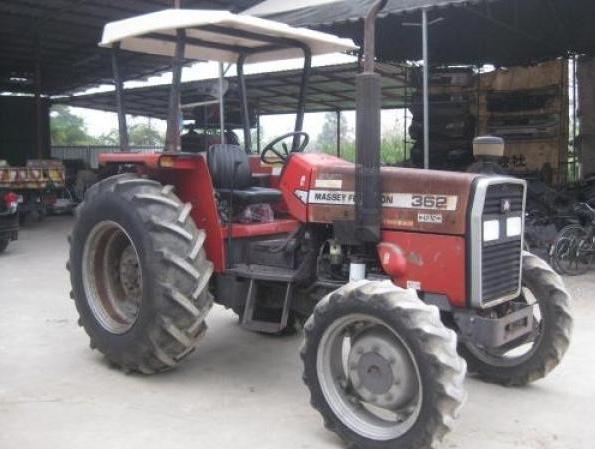Photo du Tracteurs agricoles 362 Arceau